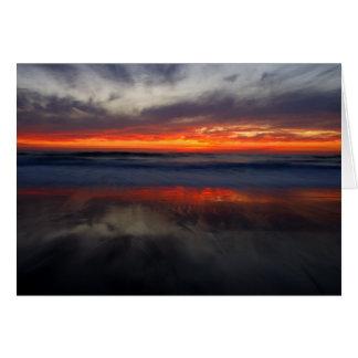 Sunset on Salt Creek Card