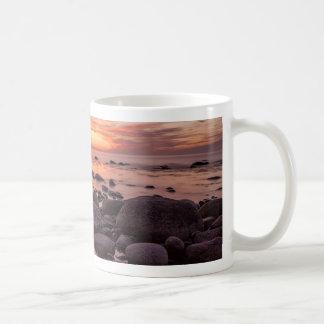 Sunset on shore of the Baltic Sea Mugs