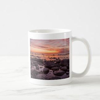 Sunset on shore of the Baltic Sea Mug