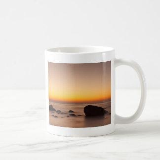 Sunset on shore of the Baltic Sea Coffee Mug