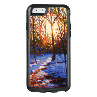 Sunset on snow 2010 OtterBox iPhone 6/6s case
