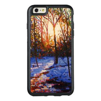 Sunset on snow 2010 OtterBox iPhone 6/6s plus case