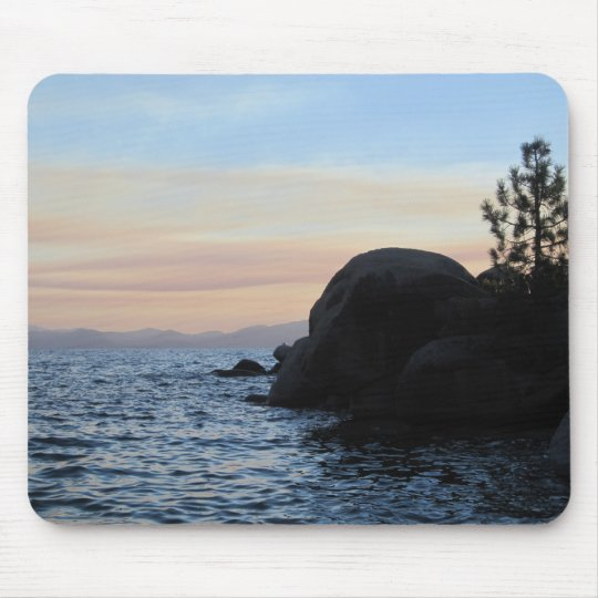 Sunset On Tahoe Mouse Mat