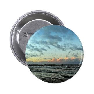 Sunset On The Baltic Sea 6 Cm Round Badge