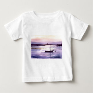 Sunset on the bay baby T-Shirt