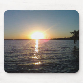 Sunset on the Bayou Mouse Pad