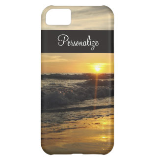 Sunset on The Beach iPhone Case