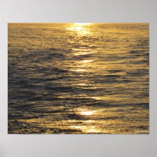 Sunset on the Beach Print