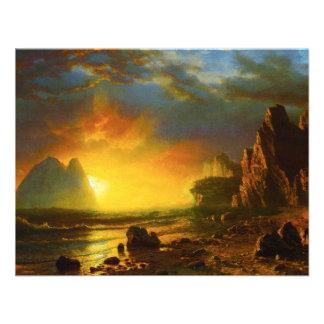 Sunset on the California Coast Invitations