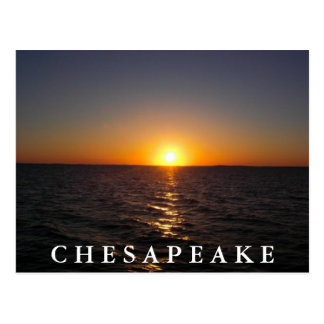 Sunset on the Chesapeake Postcard