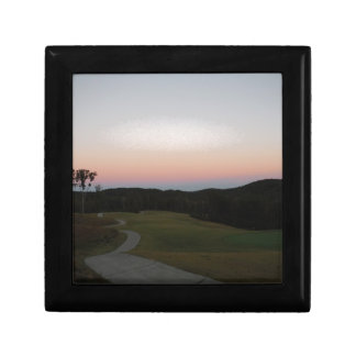 Sunset on the Golf course at Lake Arrowhead Gift Box