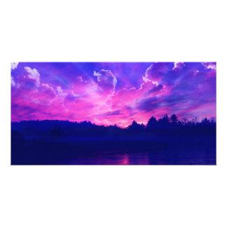 Sunset on the Horizon Photo Cards