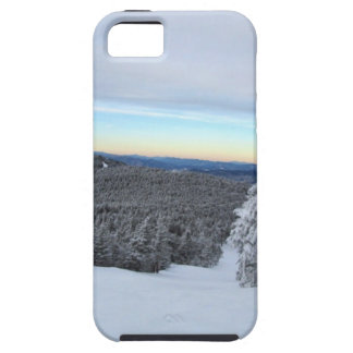 Sunset on the Mountain iPhone 5 Cases
