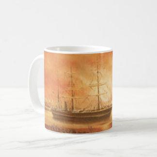 Sunset on the Past Coffee Mug