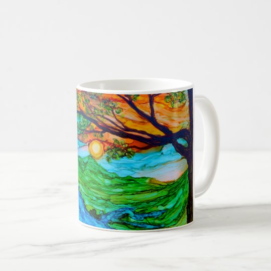 Sunset on the Pedernales Coffee Mug