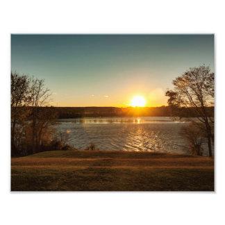 Sunset on the Rappahannock Photo