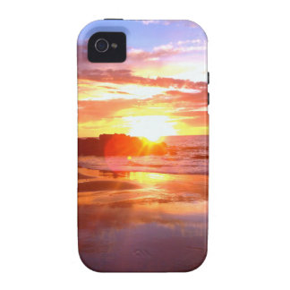 Sunset On The Rocks iPhone 4/4S Cover