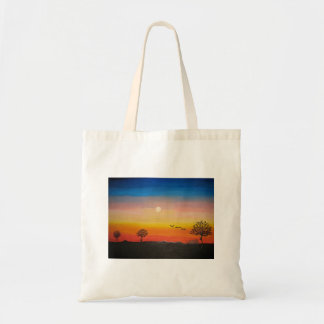 Sunset on the Savanna Tote Bag