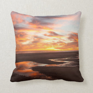 Sunset On The Sea Of Cortez Cushion