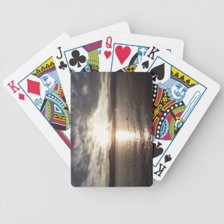 Sunset on the St-Lawrence River Bicycle Playing Cards