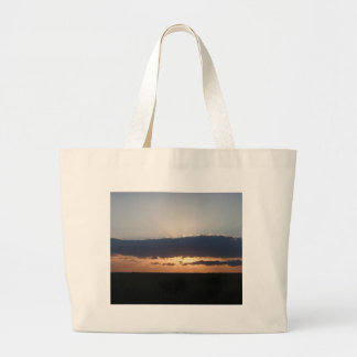 Sunset On The Steppes Tote Bag