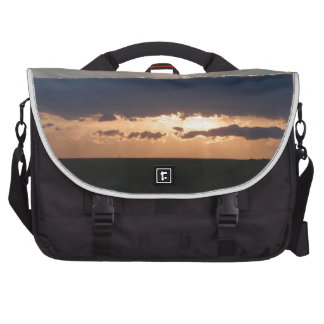 Sunset On The Steppes Laptop Computer Bag