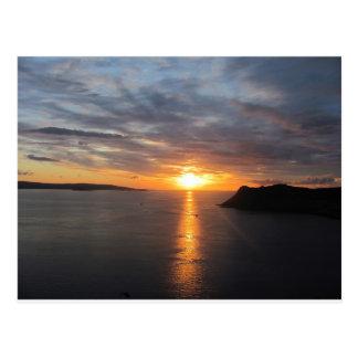 Sunset on Uig Bay Postcard