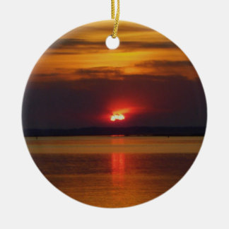 Sunset Ornament