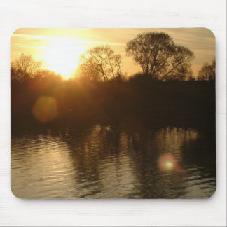 Sunset over Abberton Mouse Pad