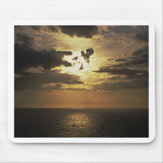 Sunset over Atlantic Mouse Mat