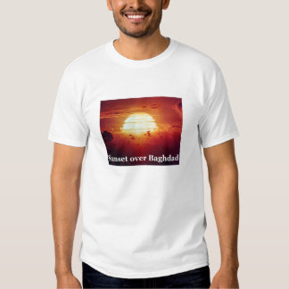 Sunset Over Baghdad T-shirts