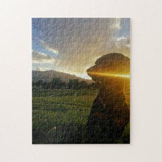 Sunset over Boulder Colorado Jigsaw Puzzle