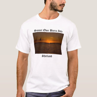 Sunset Over Burra Isle T-Shirt