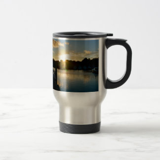 Sunset over Cape Cod Travel Mug