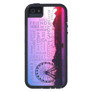 Sunset over Fairgrounds Trendy Case For The iPhone 5