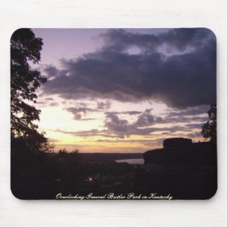 Sunset Over General Butler St Park in Kentucky Mouse Pad