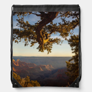 Sunset over Grand Canyon Drawstring Bag