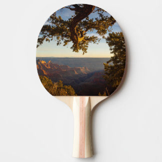 Sunset over Grand Canyon Ping Pong Paddle