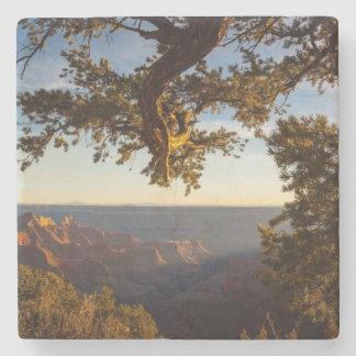 Sunset over Grand Canyon Stone Coaster