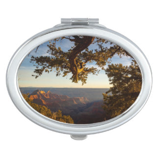 Sunset over Grand Canyon Travel Mirror