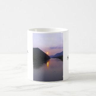 Sunset over Hyner Pennsylvania Coffee Mug