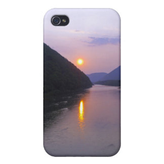 Sunset over Hyner Pennsylvania iPhone 4 Covers