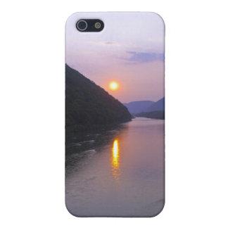 Sunset over Hyner Pennsylvania iPhone 5/5S Cover