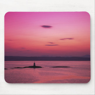 Sunset over Isle of Skye, from Mallaig, Mouse Pad