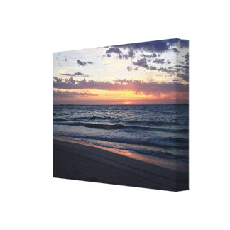 Sunset Over Jurien Bay Western australia Canvas Print