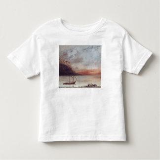 Sunset over Lake Leman, 1874 Toddler T-Shirt