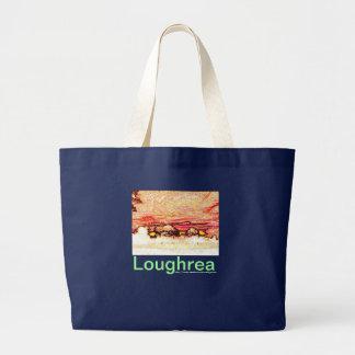 Sunset over Loughrea shopper Bag