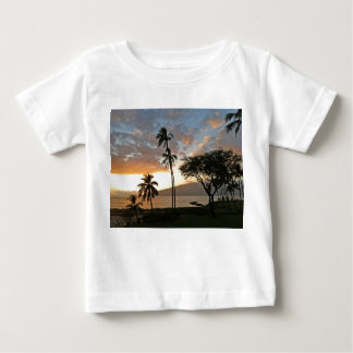 Sunset over Maalaea Bay, Maui Baby T-Shirt