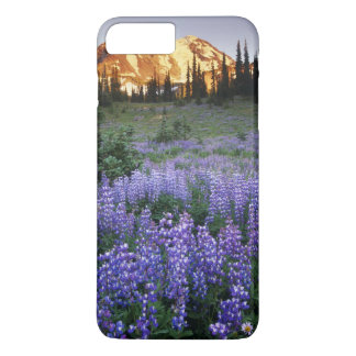 Sunset over Mt. Adams and a sub-alpine meadow iPhone 8 Plus/7 Plus Case