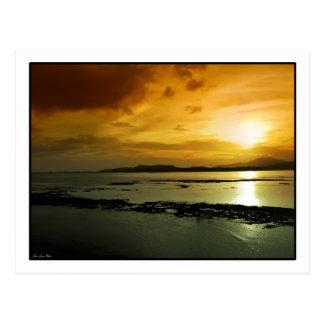 Sunset over Panama Postcard